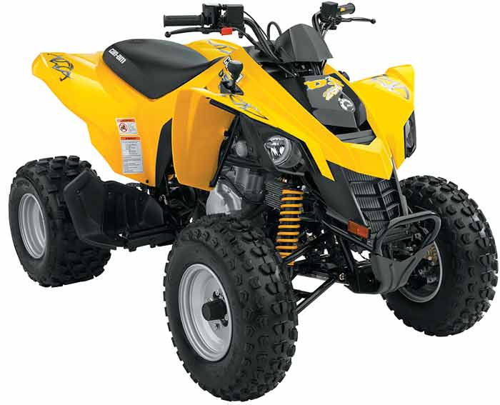 ds250 quad bike
